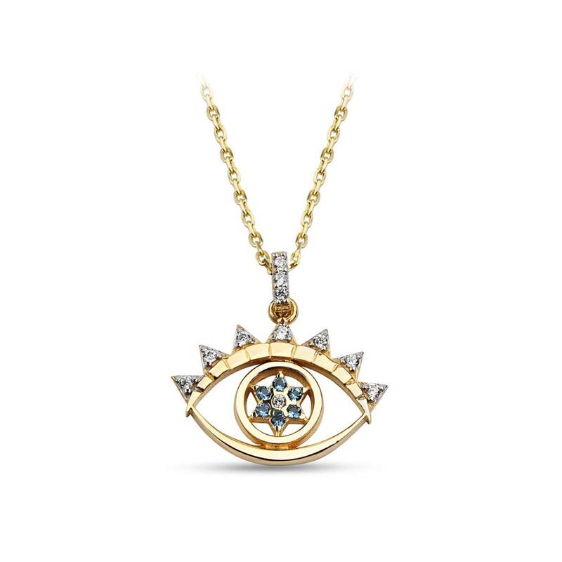 Starlet Göz Gümüş Kolye